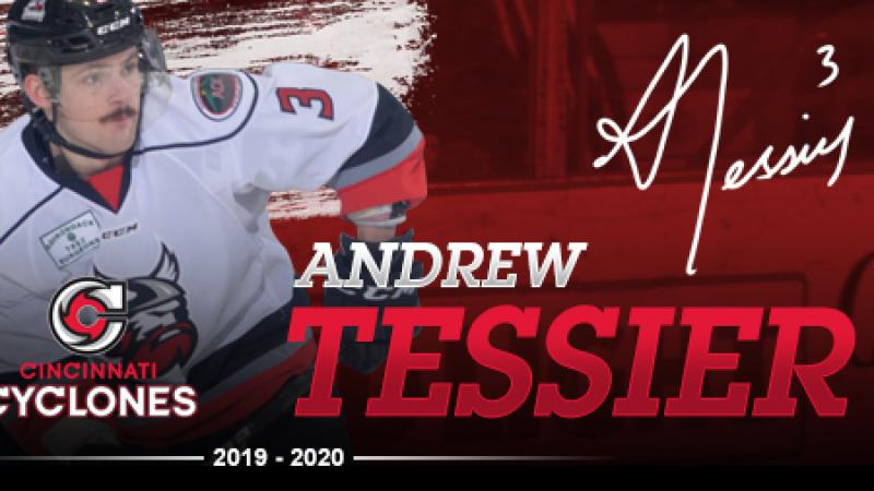 CYCLONES SIGN TESSIER