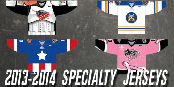 Cyclones Unveil 2013-2014 Specialty Jerseys