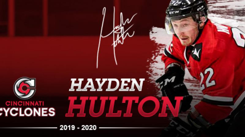 CYCLONES ADD HULTON AS TRAINING CAMP APPROACHES