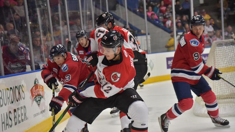 CYCLONES GET POWER PLAY ON TRACK IN ROAD WIN