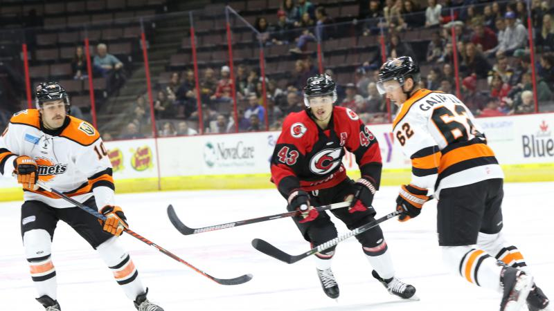 CYCLONES FALL IN OVERTIME IN FT. WAYNE