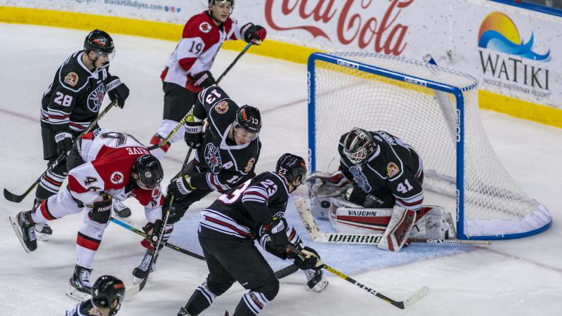CYCLONES KICK OFF ROAD TRIP WITH 4-1 WIN
