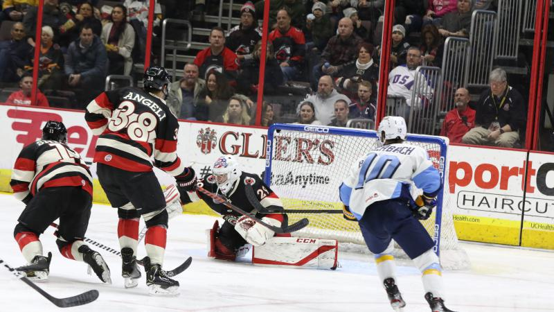 CYCLONES FALL IN FIRST SHOOTOUT OF THE SEASON
