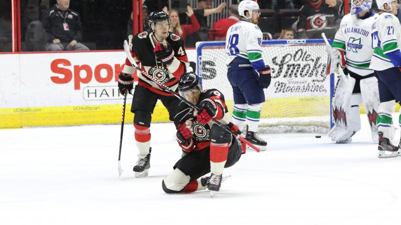CYCLONES' POWER PLAY LEADS THE WAY TO VICTORY