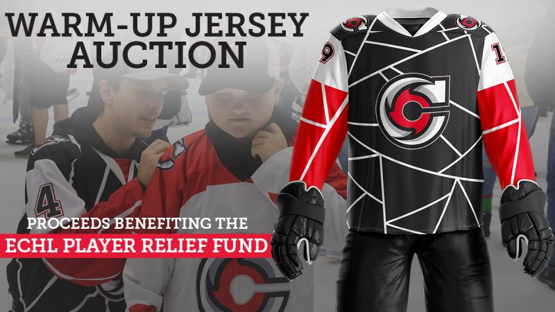 CYCLONES ANNOUNCE JERSEY AUCTION TO BENEFIT ECHL COVID-19 RELIEF FUND