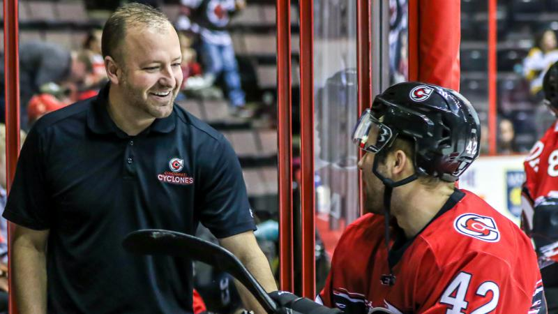BURKE NAMED ECHL EQUIPMENT MANAGER OF THE YEAR