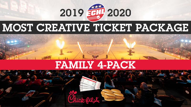 Cyclones Win ECHL Most Creative Ticket Package Award