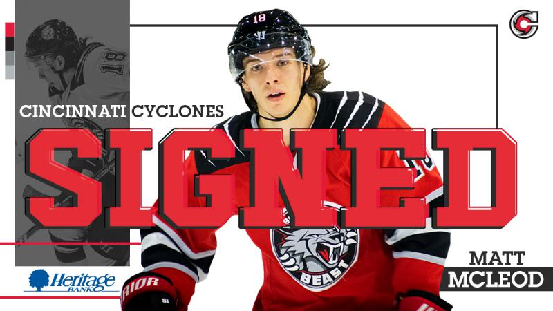 Cyclones Sign Matt McLeod