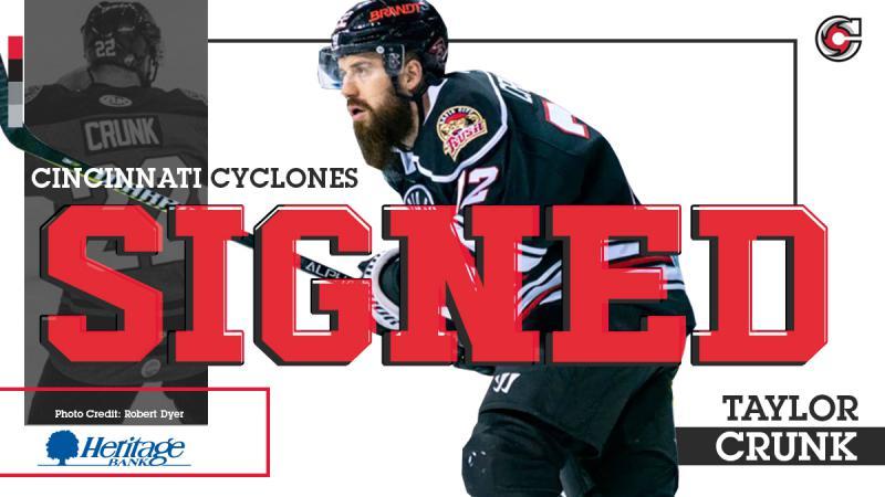 Cyclones Sign Taylor Crunk