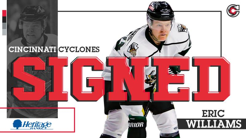 Cyclones Sign Eric Williams