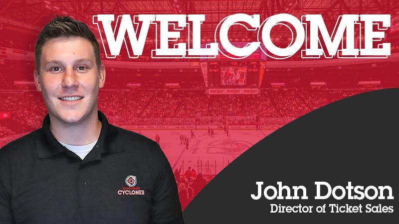 John Dotson Named Director of Ticket Sales