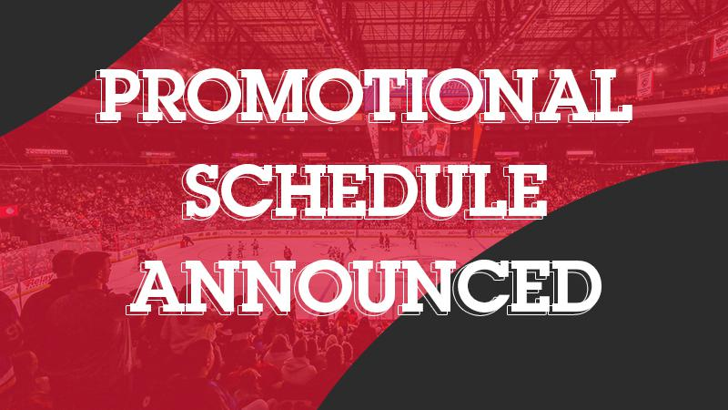 2021-22 PROMOTIONAL SCHEDULE ANNOUNCED