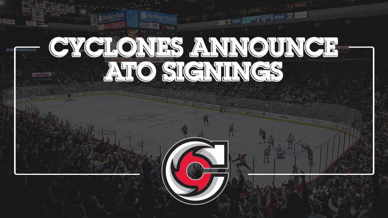 Cyclones Announce ATO Signings