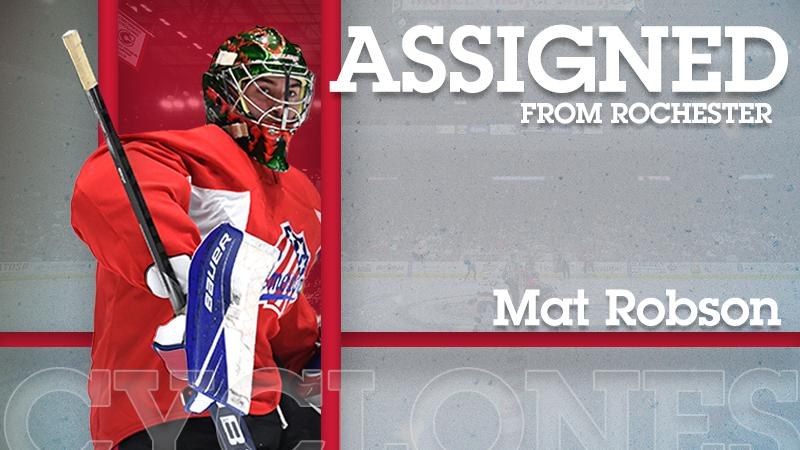 Americans Assign Robson to Cyclones