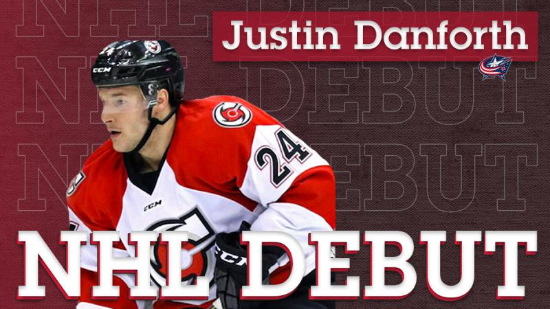 Cyclones Alum Justin Danforth Set to Make NHL Debut