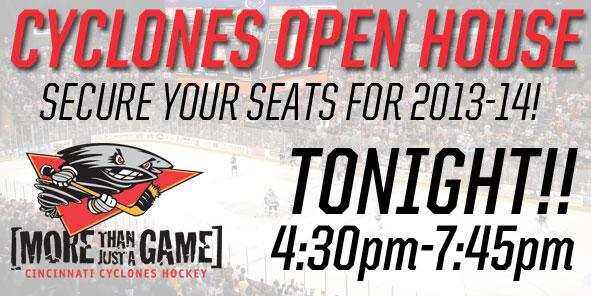 Cyclones Open House - TODAY!!!