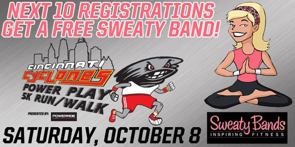 Free Sweaty Bands To The Next Ten 5K Registrations
