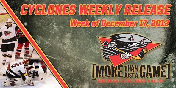 Cyclones Weekly Release - December 17-23