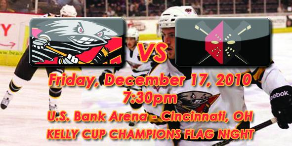Cyclones Game Preview: Cincinnati vs. Wheeling - December 17, 2010