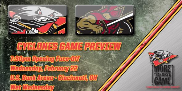 Cyclones Game Preview - Cincinnati vs. Gwinnett