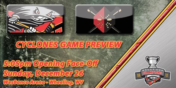 Cyclones Game Preview: Cincinnati vs. Wheeling - December 26, 2010