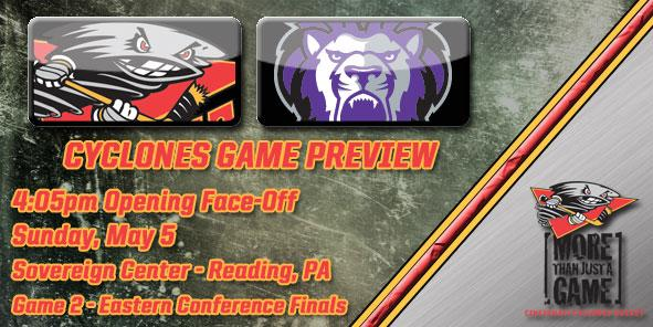 Cyclones Game Preview - Cincinnati at Reading