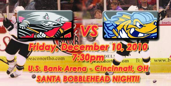 Cyclones Game Preview: Cincinnati vs. Toledo - December 10, 2010