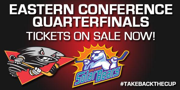 Cyclones to Face Orlando in Eastern Conference Quarterfinals