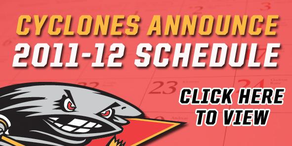 Cyclones Unveil 2011-12 Schedule