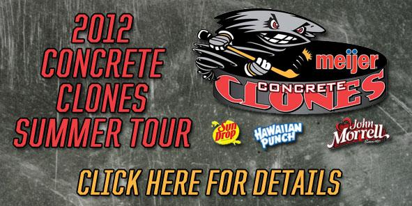 Cyclones Announce Dates for 2012 Meijer Concrete Clones