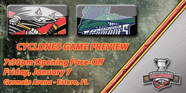 Cyclones Game Preview: Cincinnati vs. Florida - January 7, 2011