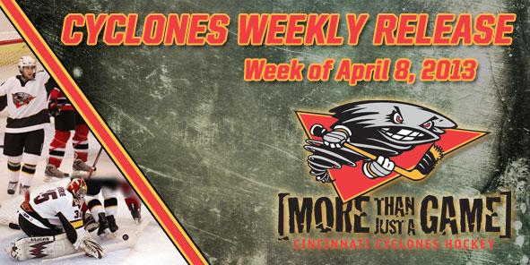 Cyclones Weekly Release - April 8-14