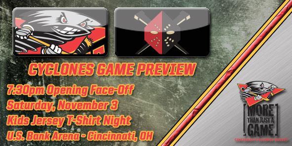 Cyclones Game Preview - Cincinnati vs. Wheeling