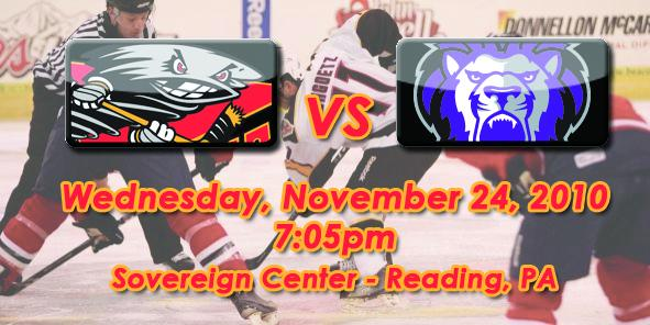 Cyclones Game Preview: Cincinnati vs. Reading - 11/24/10
