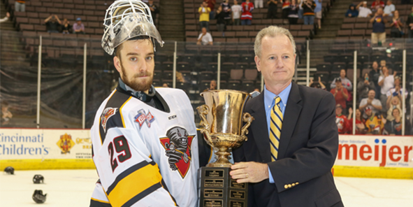 Rob Madore Named Kelly Cup Playoffs MVP