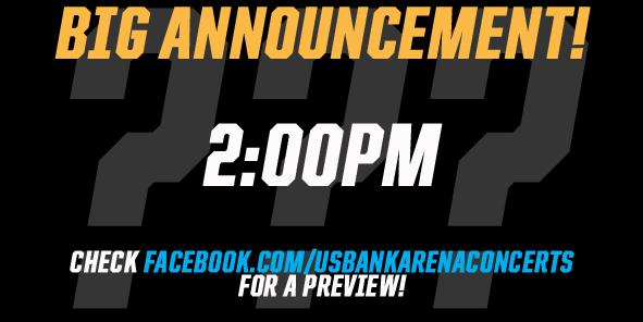 Big Announcement Today At 2:00pm