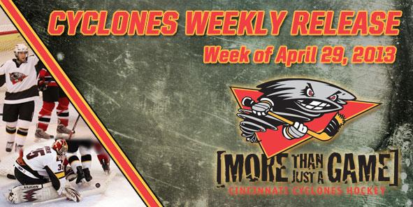 Cyclones Weekly Release - April 29-May 5