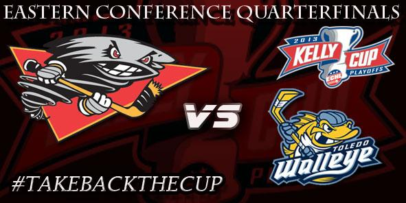 Cyclones Announce 2013 Kelly Cup Quarterfinals Schedule