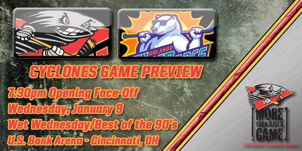 Cyclones Game Preview - Cincinnati vs. Orlando
