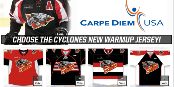 YOU choose our 2013-14 Warm-Up Jersey Design!