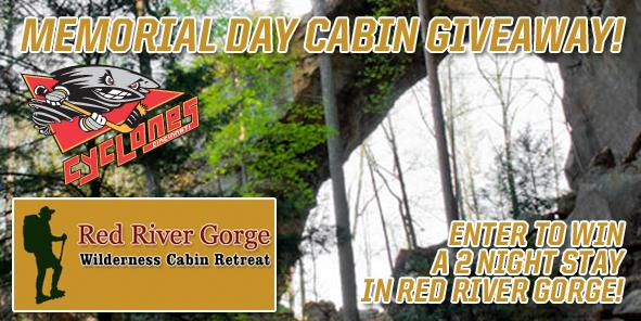 Memorial Day Cabin Giveaway