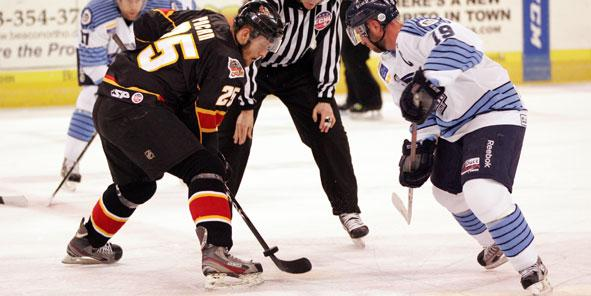 IceMen Sneak Past Cyclones in Shootout, 5-4
