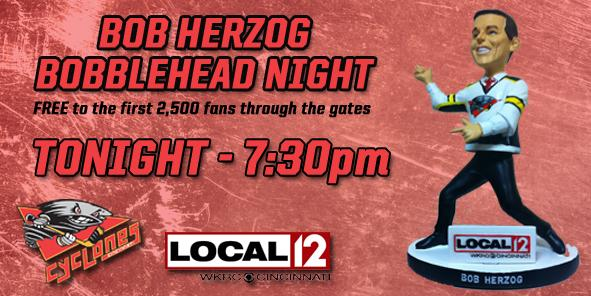 Bob Herzog Bobblehead Night TONIGHT!