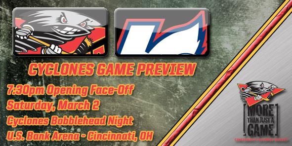 Cyclones Game Preview - Cincinnati vs. Kalamazoo