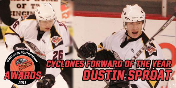 Cyclones Forward of the Year: Dustin Sproat