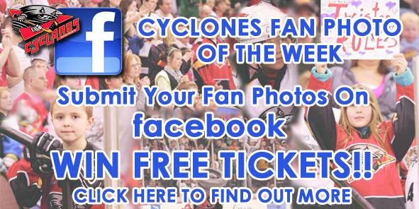 Turn your Facebook photos into FREE CYCLONES TICKETS!!