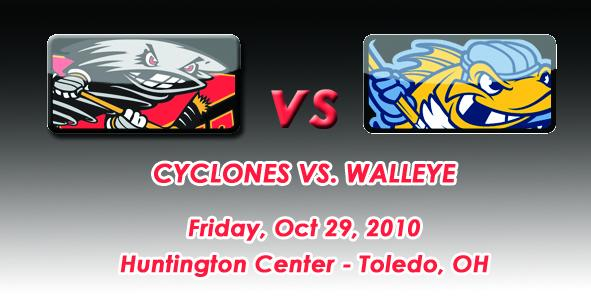 Cyclones Game Preview: Cincinnati at Toledo - 10/29/10