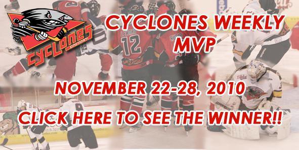 Your Cyclones MVP of the Week is...