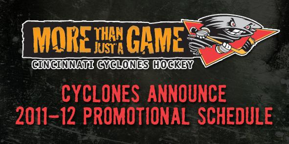 Cyclones Unveil 2011-12 Promotional Schedule