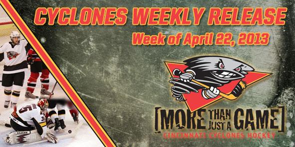 Cyclones Weekly Release - April 22-28